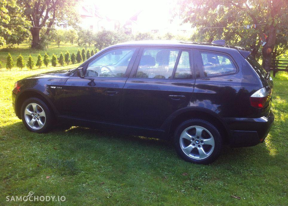 BMW X3 Czarne LIFT 2.0D 177KM 4x4. Serwis. Orginal.Okazja. 1