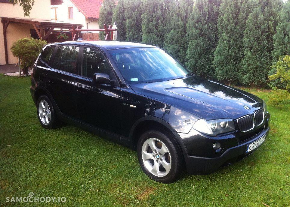 BMW X3 Czarne LIFT 2.0D 177KM 4x4. Serwis. Orginal.Okazja. 46