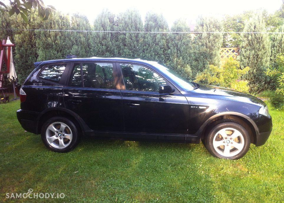 BMW X3 Czarne LIFT 2.0D 177KM 4x4. Serwis. Orginal.Okazja. 2
