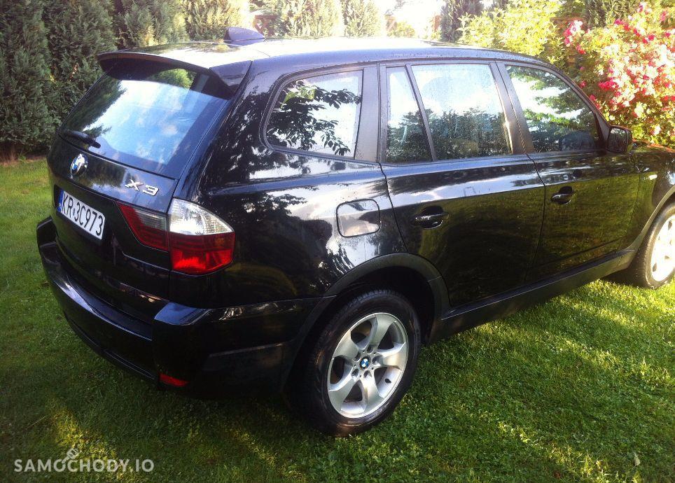 BMW X3 Czarne LIFT 2.0D 177KM 4x4. Serwis. Orginal.Okazja. 56