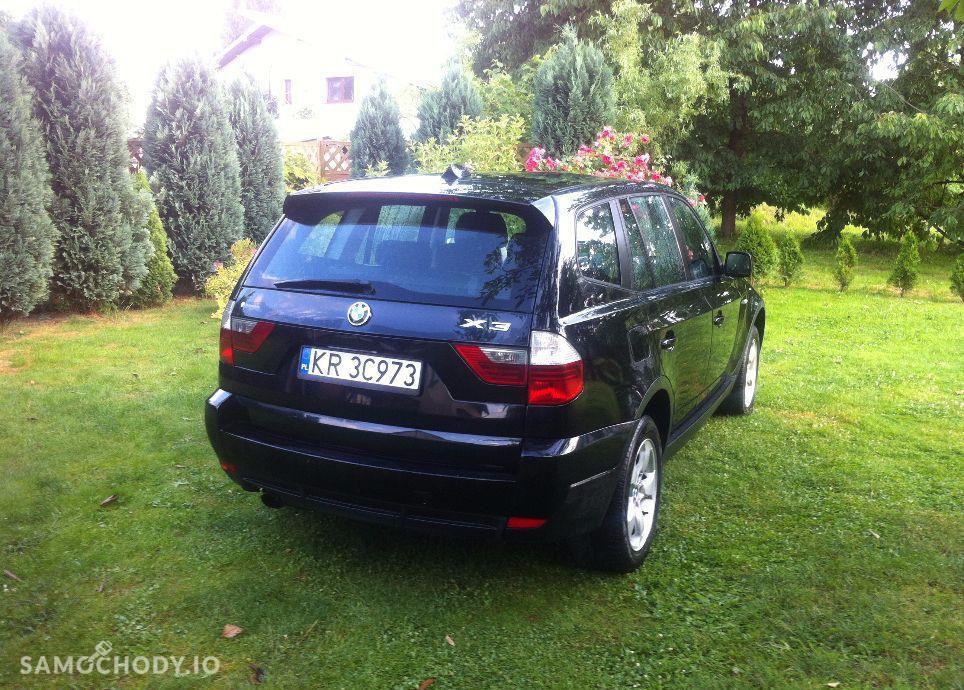 BMW X3 Czarne LIFT 2.0D 177KM 4x4. Serwis. Orginal.Okazja. 7
