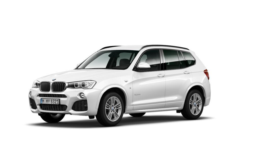 BMW X3 20d 4x4 M Pakiet Navi Automat FV23 1