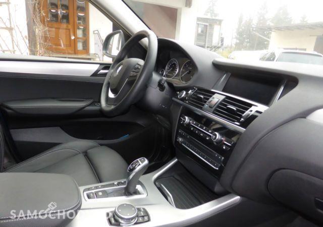 BMW X4 3.0d, X line, Ksenon, Sportowa skrzynia 11