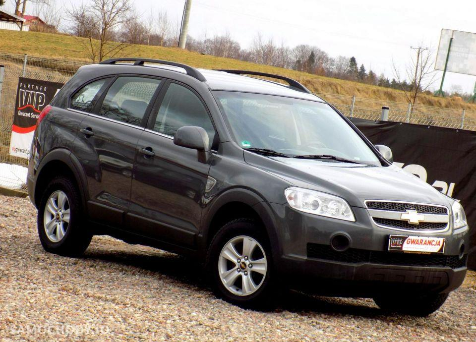 Chevrolet Captiva 150KM Lift 4x4 Idealny 11