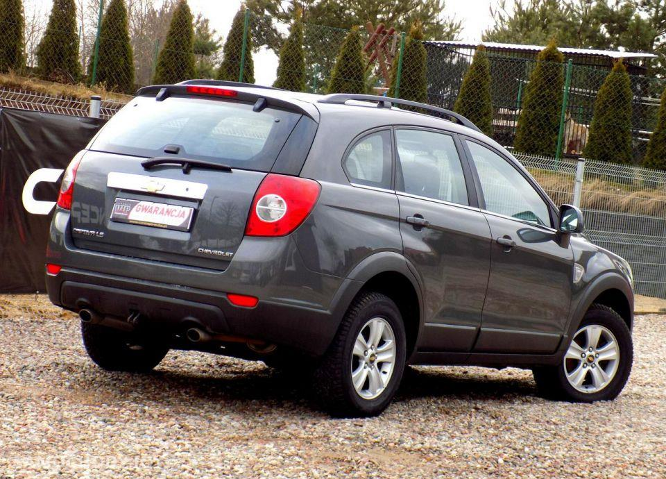 Chevrolet Captiva 150KM Lift 4x4 Idealny 22