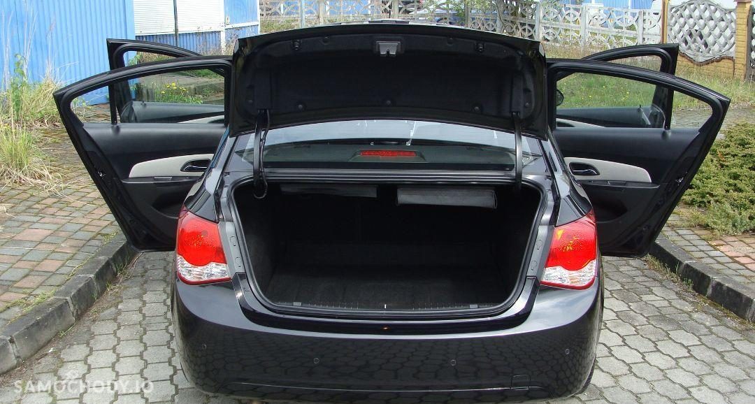 Chevrolet Cruze 1.8i 140 KM CZARNY SEDAN Bogaty LS Klima Tempomat Felgi 16\'\' OPŁACONY 22