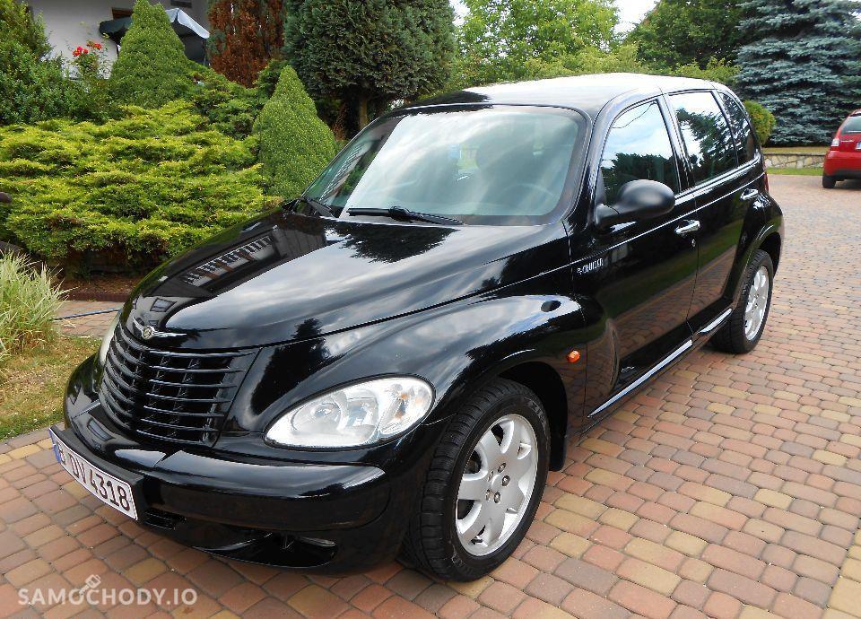 Chrysler PT Cruiser Z NIEMIEC OPŁACONY 2.0 benzyna Czarny ALU Klima 4