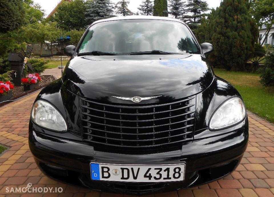 Chrysler PT Cruiser Z NIEMIEC OPŁACONY 2.0 benzyna Czarny ALU Klima 2