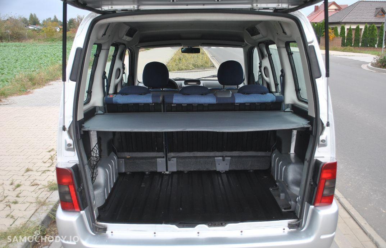 Citroën Berlingo 1,6 benzyna gaz multispece klimatyzacja 2 x boczne drzwi opłacony 16