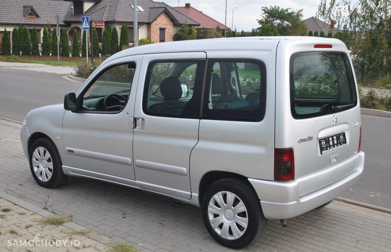 Citroën Berlingo 1,6 benzyna gaz multispece klimatyzacja 2 x boczne drzwi opłacony 4