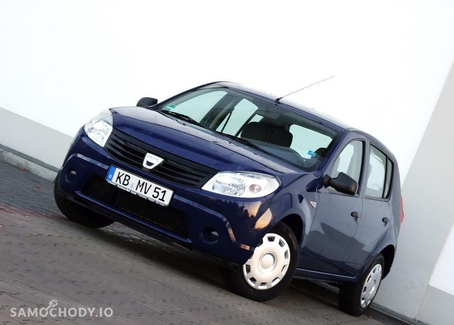 Dacia Sandero 1.4 MPi / Super Stan / 126tys przebieg / Gwarancja 1