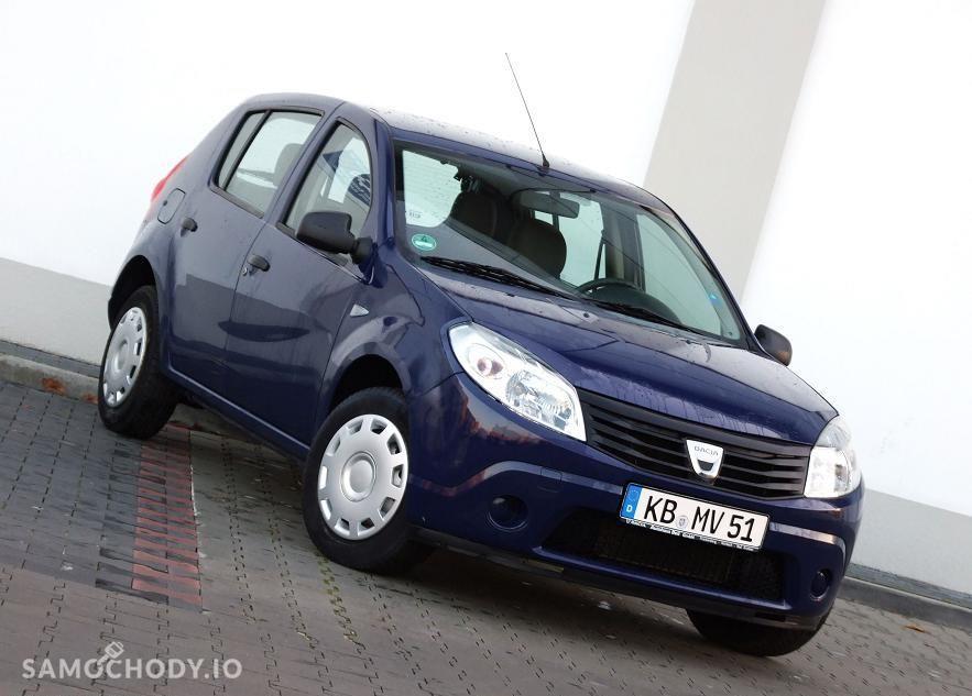 Dacia Sandero 1.4 MPi / Super Stan / 126tys przebieg / Gwarancja 2