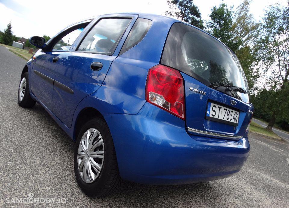 Daewoo Kalos z sekwencyjnym gazem 2 letnim ekonomiczny hatchback 4