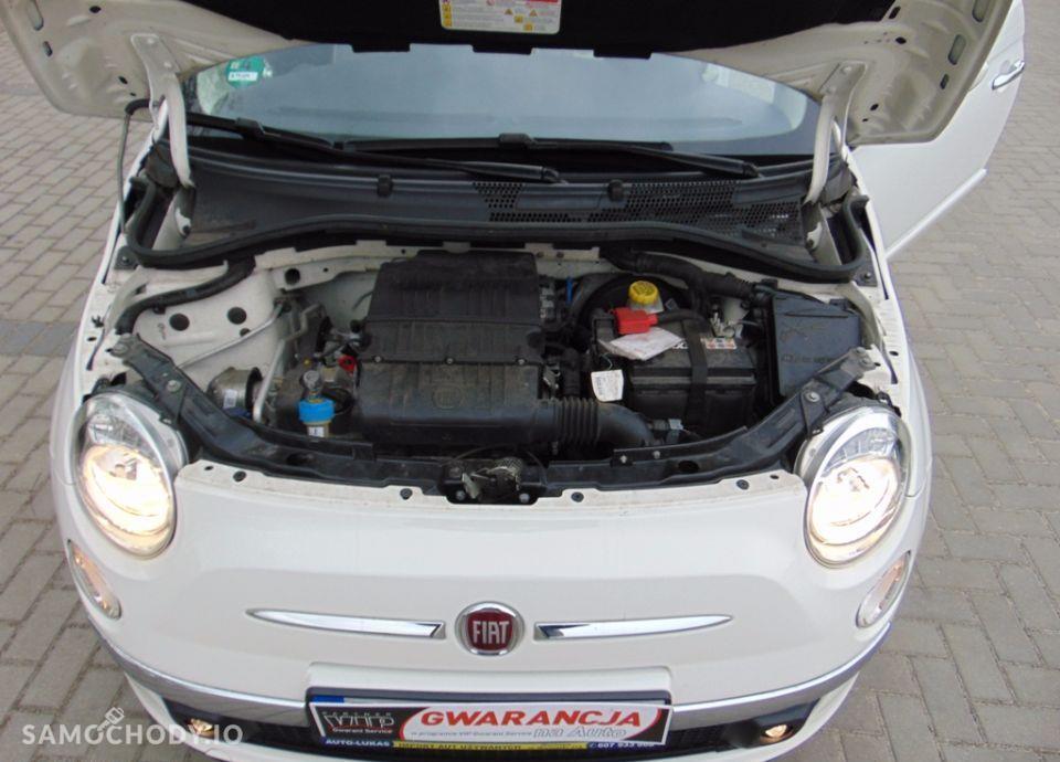 Fiat 500 PANORAMADACH / Klimatyzacja / GWARANCJA / Sprowadzony 121