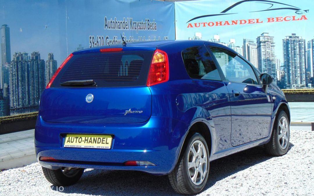 Fiat Grande Punto 1,4 B Klima! Alu! Serwia! Bezwypadkowy! Opłacony! rej. 256zł 4