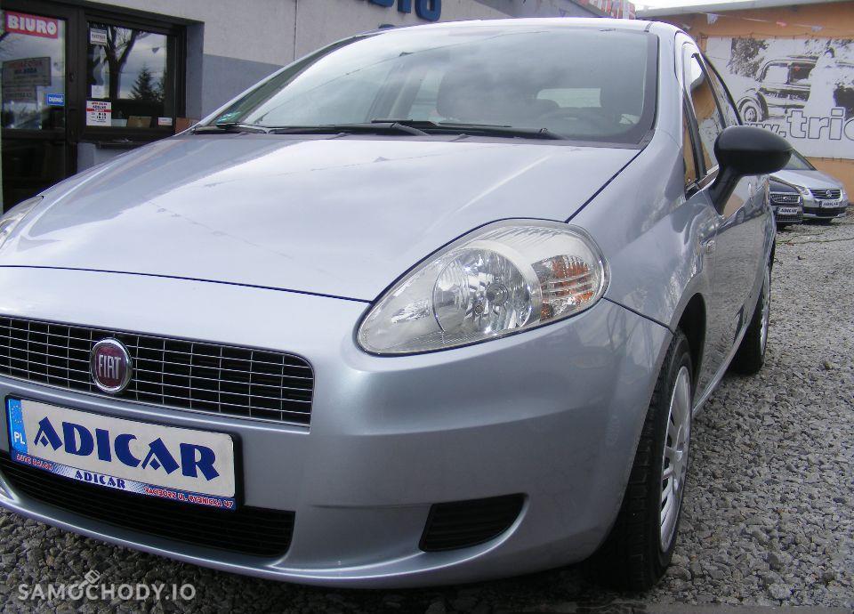 Fiat Grande Punto 1.4 LPG, 5 drzwi, klima, radio CD, zarejestrowane 2