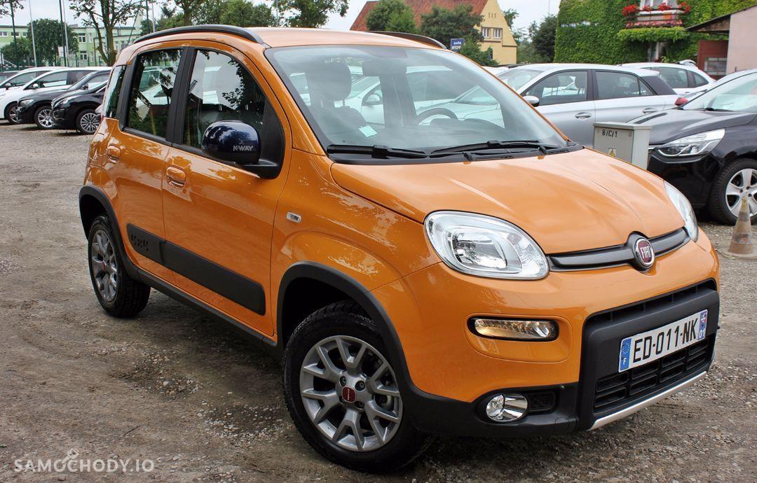 Fiat Panda K.WAY 4x4 Turbo Klima Alufelgi Komputer Jak Nowa 7