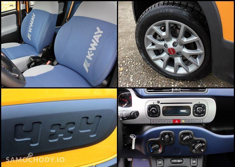 Fiat Panda K.WAY 4x4 Turbo Klima Alufelgi Komputer Jak Nowa 22