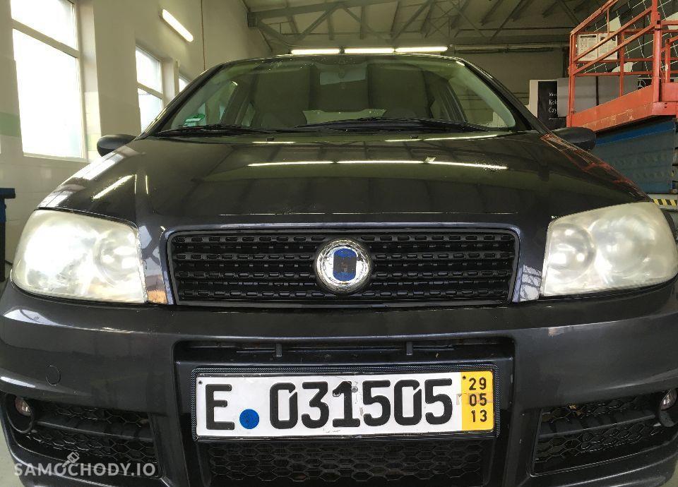 Fiat Punto __ 2003r / 2004r __ szary metalik _ piękny 1