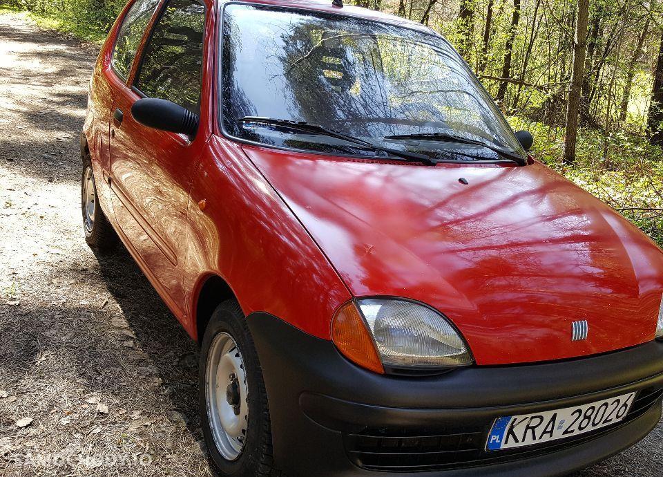 Fiat Seicento 0.9, Zdrowa Blacha, 2 KPL Kół 1