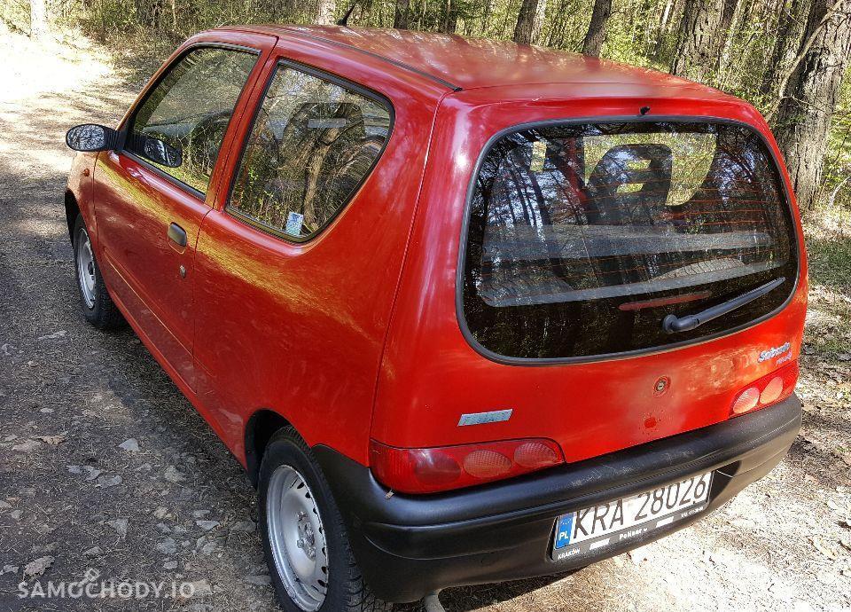 Fiat Seicento 0.9, Zdrowa Blacha, 2 KPL Kół 7