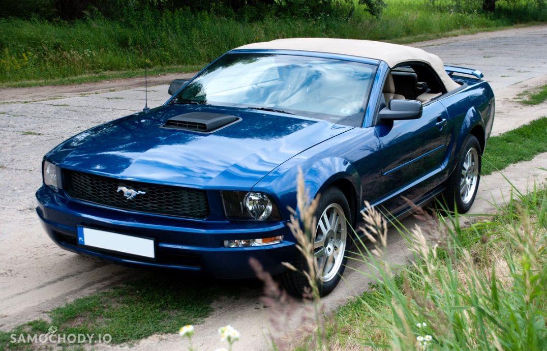 Ford Mustang 4.0 V6 kabriolet, shaker, jasna skóra 4