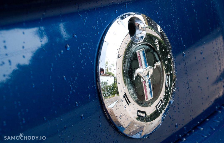 Ford Mustang 4.0 V6 kabriolet, shaker, jasna skóra 11