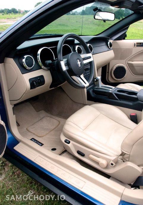 Ford Mustang 4.0 V6 kabriolet, shaker, jasna skóra 29