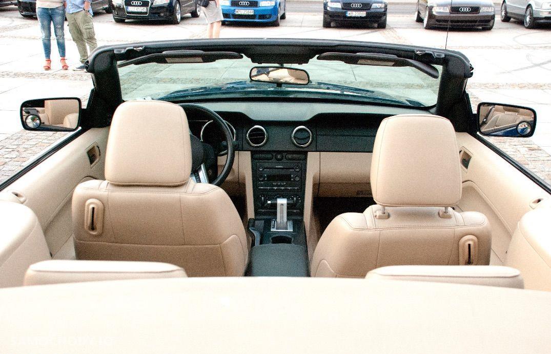 Ford Mustang 4.0 V6 kabriolet, shaker, jasna skóra 56