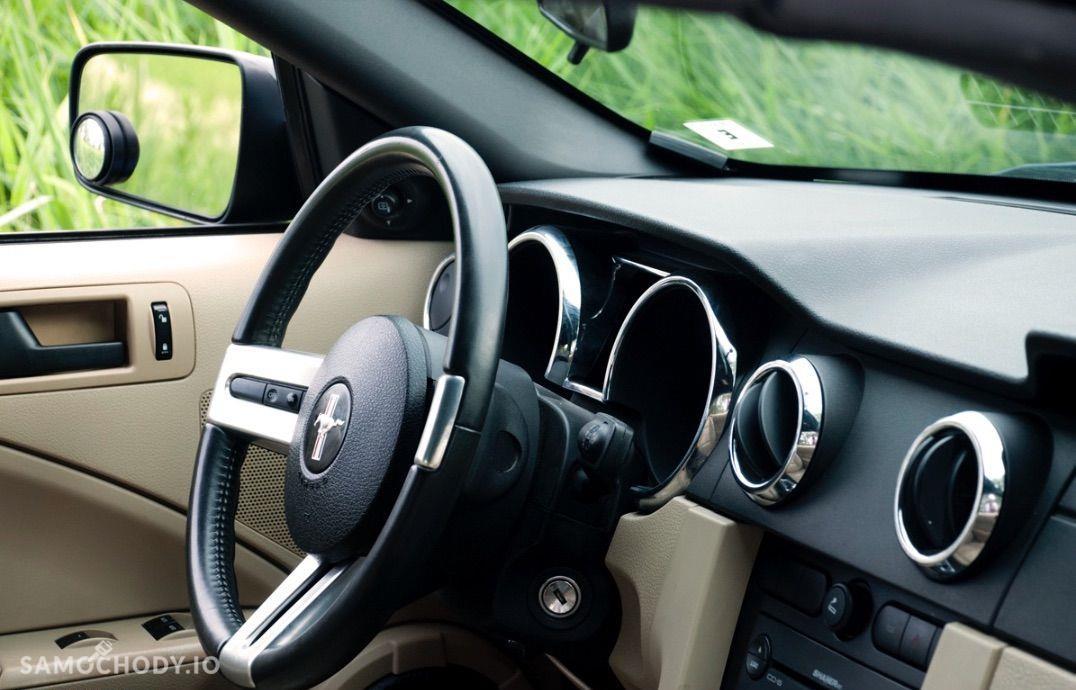 Ford Mustang 4.0 V6 kabriolet, shaker, jasna skóra 22