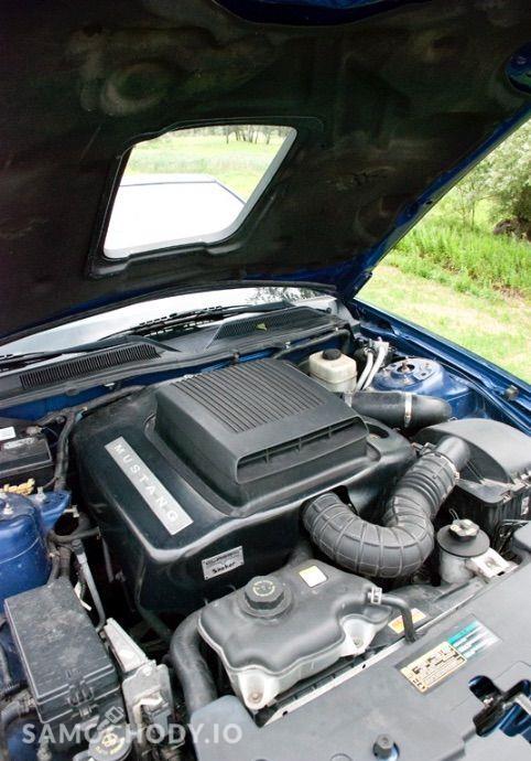 Ford Mustang 4.0 V6 kabriolet, shaker, jasna skóra 46