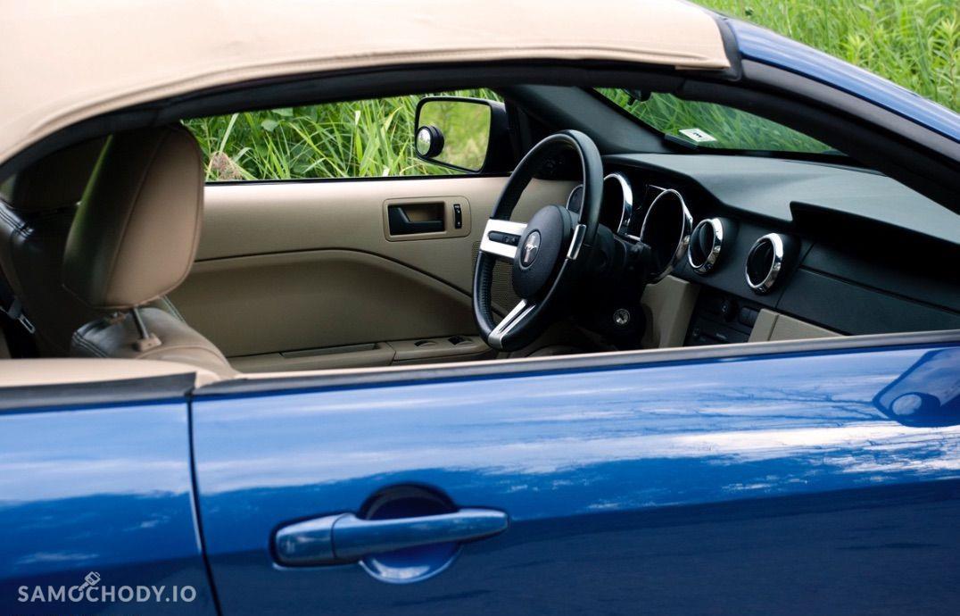 Ford Mustang 4.0 V6 kabriolet, shaker, jasna skóra 16