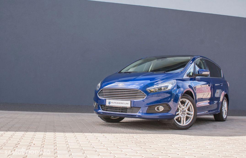 Ford S-Max Titanium!!! Powershift 180KM, 4WD, Panorama! SYNC 3, F VAT 23% 29