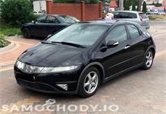 honda z województwa mazowieckie Honda Civic Czarna_5drzwi_1.8Benzyna_Piekna