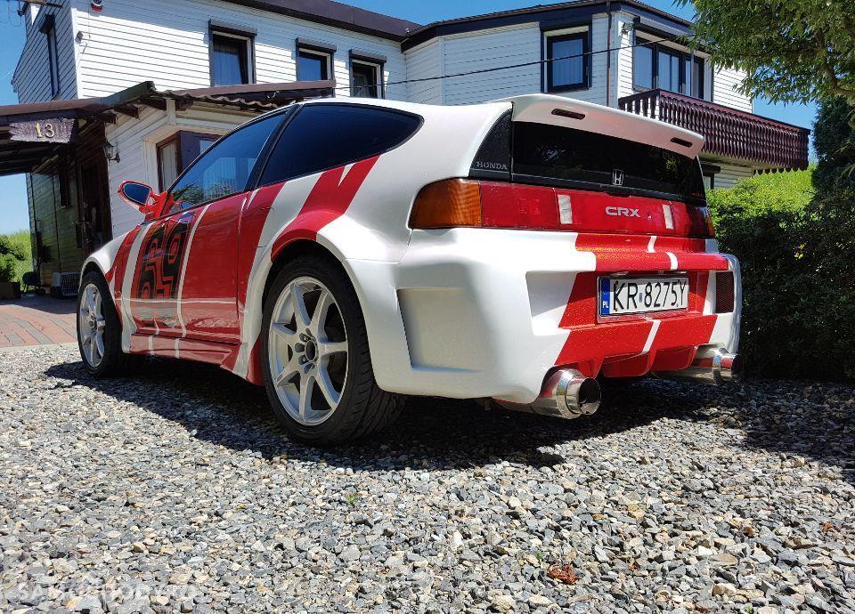 Honda CRX ED9 D16Z5 1.6 Tuning ALU 17 SHOW CAR Wyjątkowa! 16