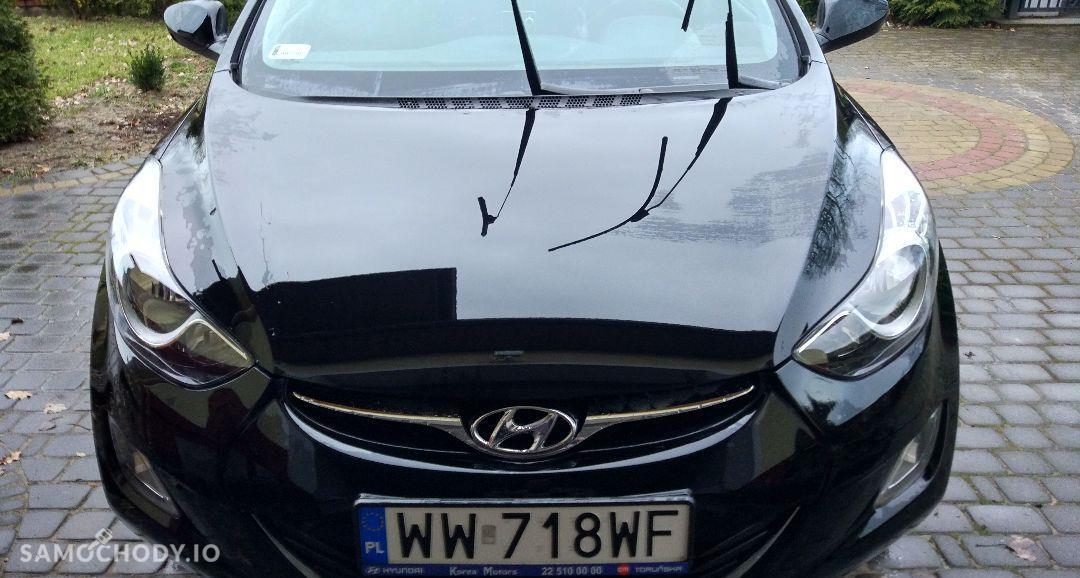 Hyundai Elantra Hyundai Elantra czarna perła stan perfekcyjny 4