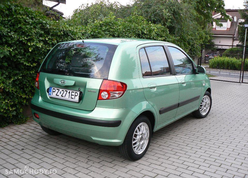 Hyundai Getz 1.1 Benzyna,KLIMA,Airbagi,Alufelgi,5 drzwi,Zadbany. 4