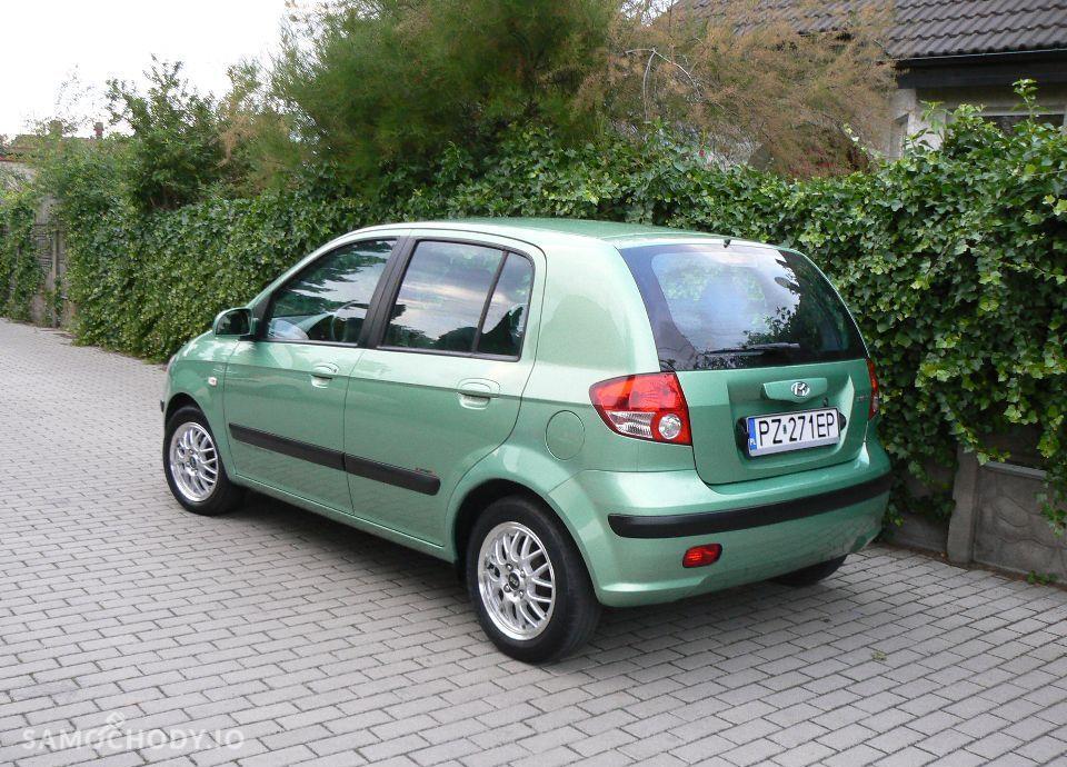 Hyundai Getz 1.1 Benzyna,KLIMA,Airbagi,Alufelgi,5 drzwi,Zadbany. 2