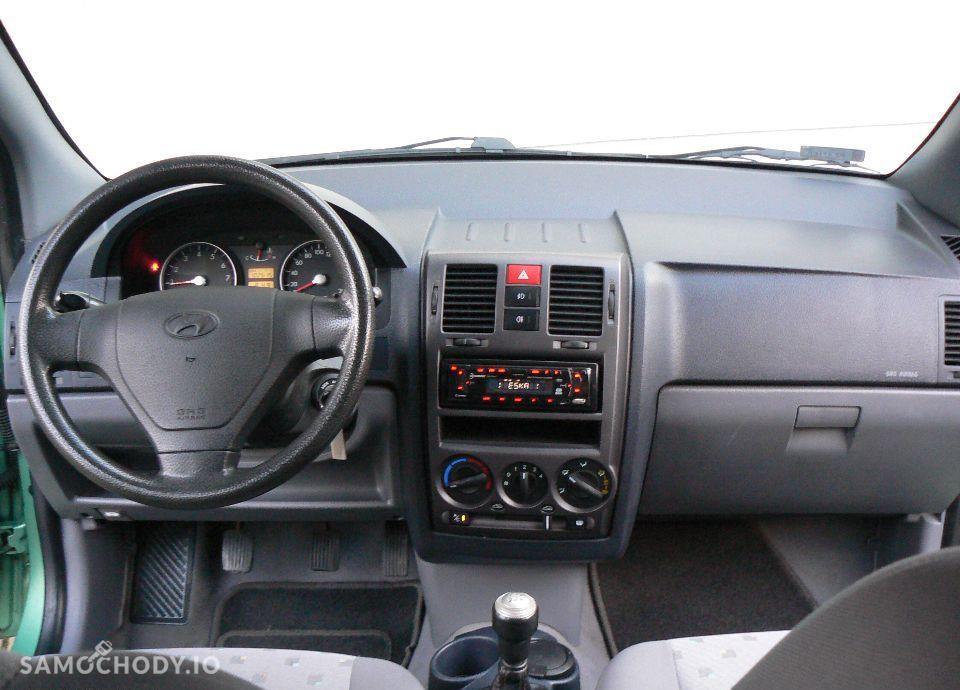 Hyundai Getz 1.1 Benzyna,KLIMA,Airbagi,Alufelgi,5 drzwi,Zadbany. 29