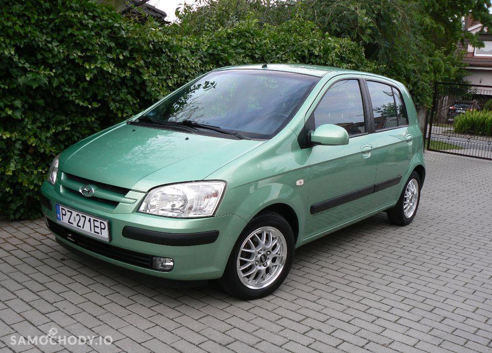 Hyundai Getz 1.1 Benzyna,KLIMA,Airbagi,Alufelgi,5 drzwi,Zadbany. 1