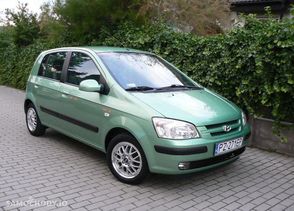 Hyundai Getz 1.1 Benzyna,KLIMA,Airbagi,Alufelgi,5 drzwi,Zadbany. 7
