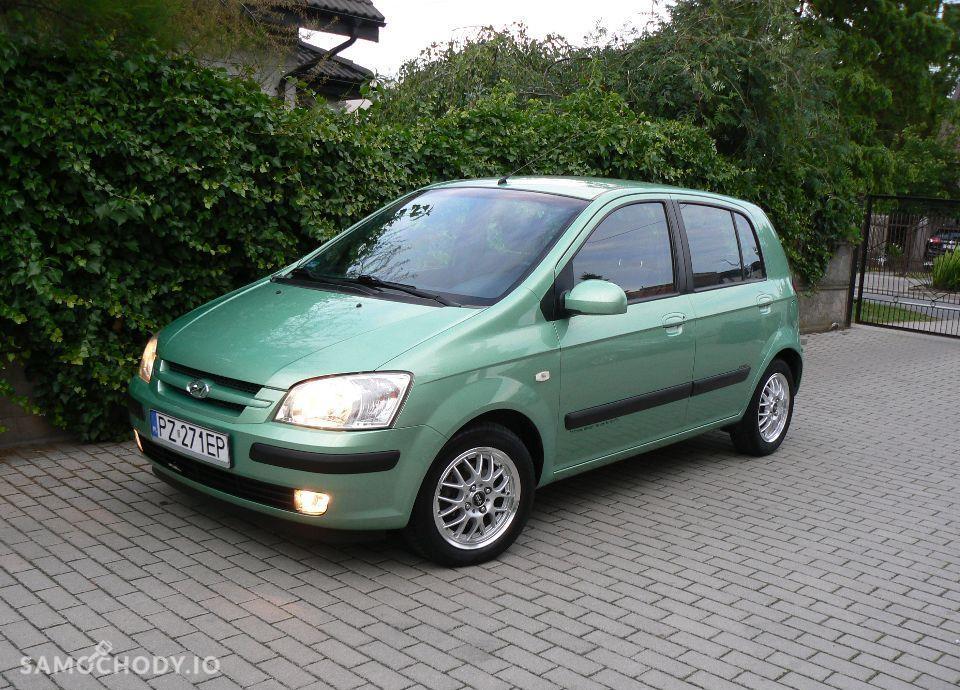 Hyundai Getz 1.1 Benzyna,KLIMA,Airbagi,Alufelgi,5 drzwi,Zadbany. 37
