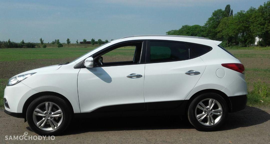 Hyundai ix35 Hyundai IX35 Biały 4WD 4x4 2.0 crdi skóra serwisowany + opony zimowe 67