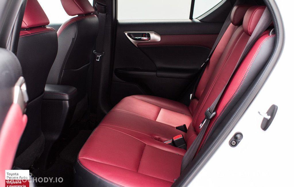 Lexus CT 200h F Sport EU6 11