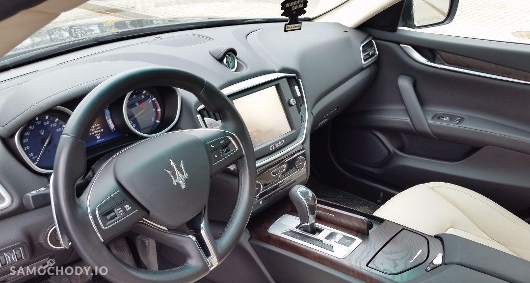 Maserati Ghibli Ghibli Q4, 3.0 Turbo, 4x4, Najbogatsza wersja. Gwarancja techniczna 37