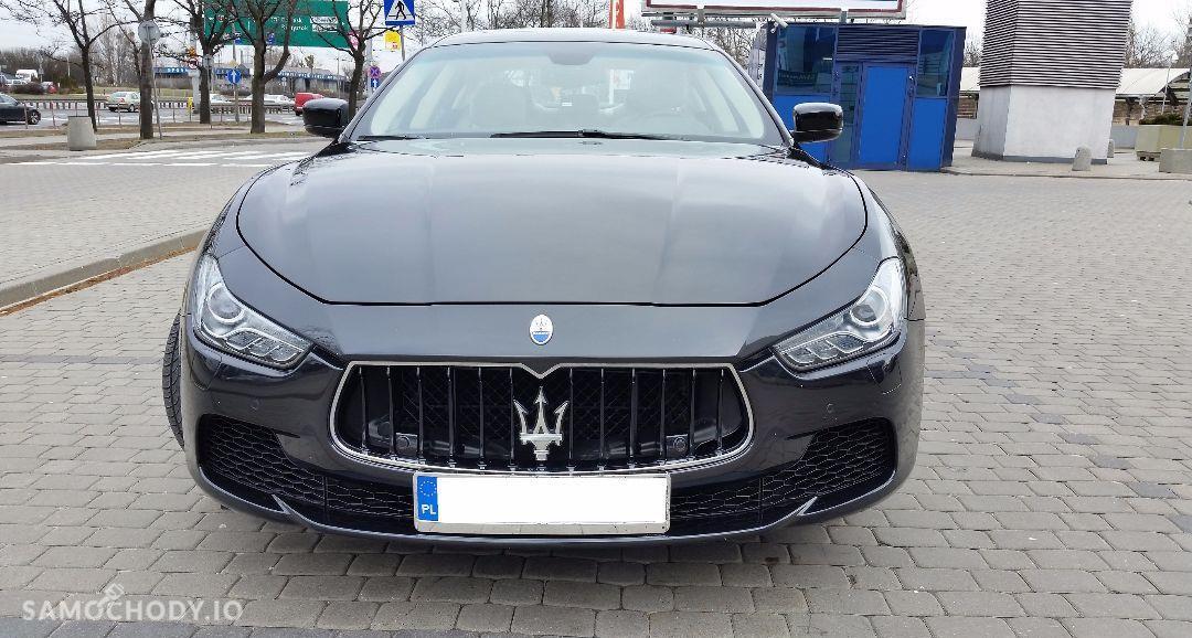 Maserati Ghibli Ghibli Q4, 3.0 Turbo, 4x4, Najbogatsza wersja. Gwarancja techniczna 4