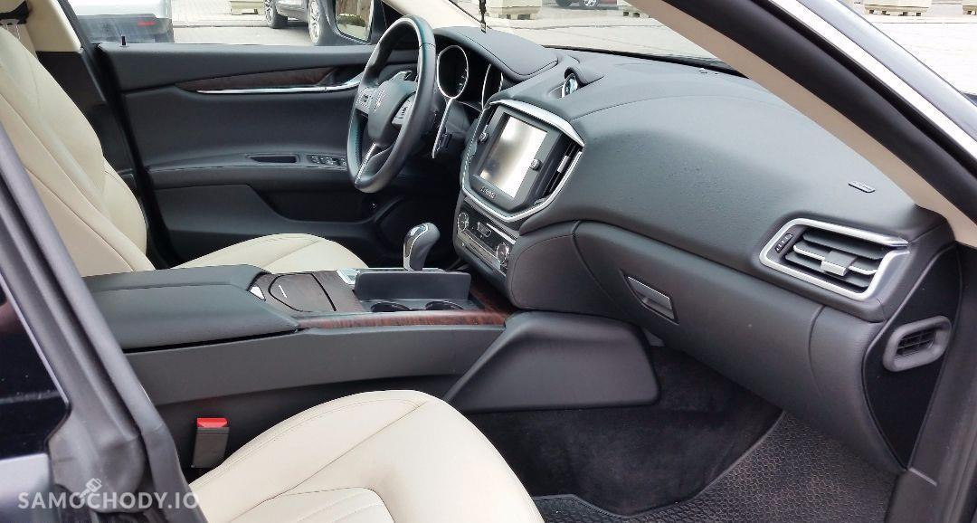 Maserati Ghibli Ghibli Q4, 3.0 Turbo, 4x4, Najbogatsza wersja. Gwarancja techniczna 67