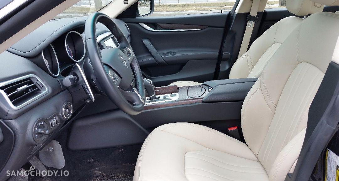 Maserati Ghibli Ghibli Q4, 3.0 Turbo, 4x4, Najbogatsza wersja. Gwarancja techniczna 46