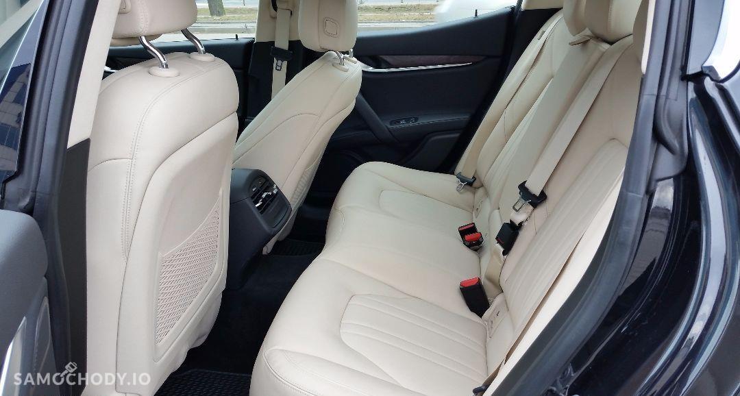 Maserati Ghibli Ghibli Q4, 3.0 Turbo, 4x4, Najbogatsza wersja. Gwarancja techniczna 79