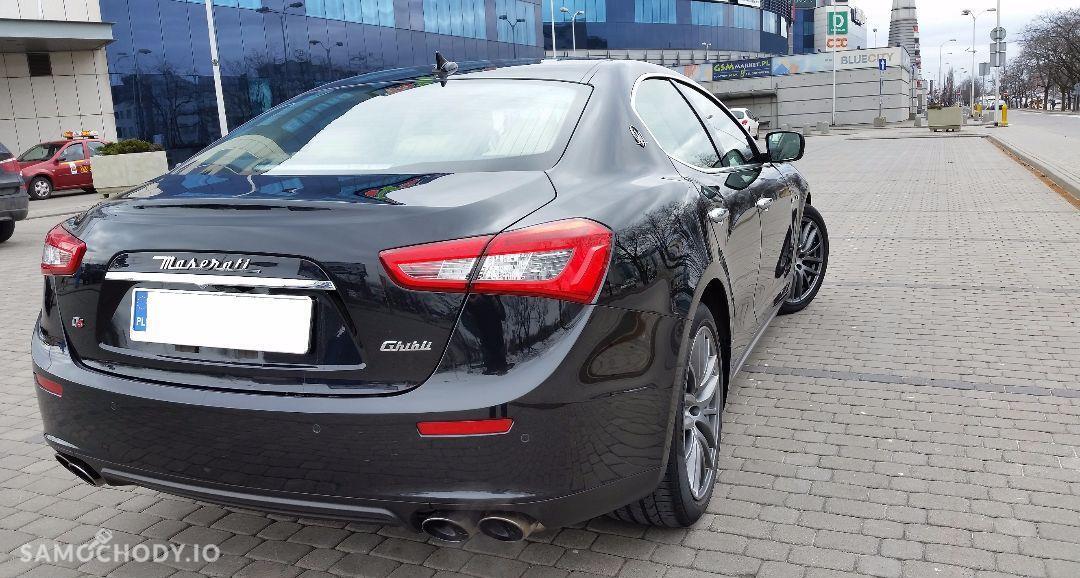 Maserati Ghibli Ghibli Q4, 3.0 Turbo, 4x4, Najbogatsza wersja. Gwarancja techniczna 7